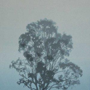 Still - Reduction Linocut - Kim Herringe