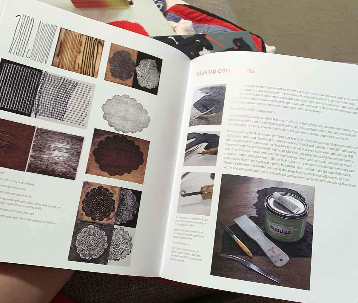 Dianne Fogwell 'A Printmakers Cookbook'