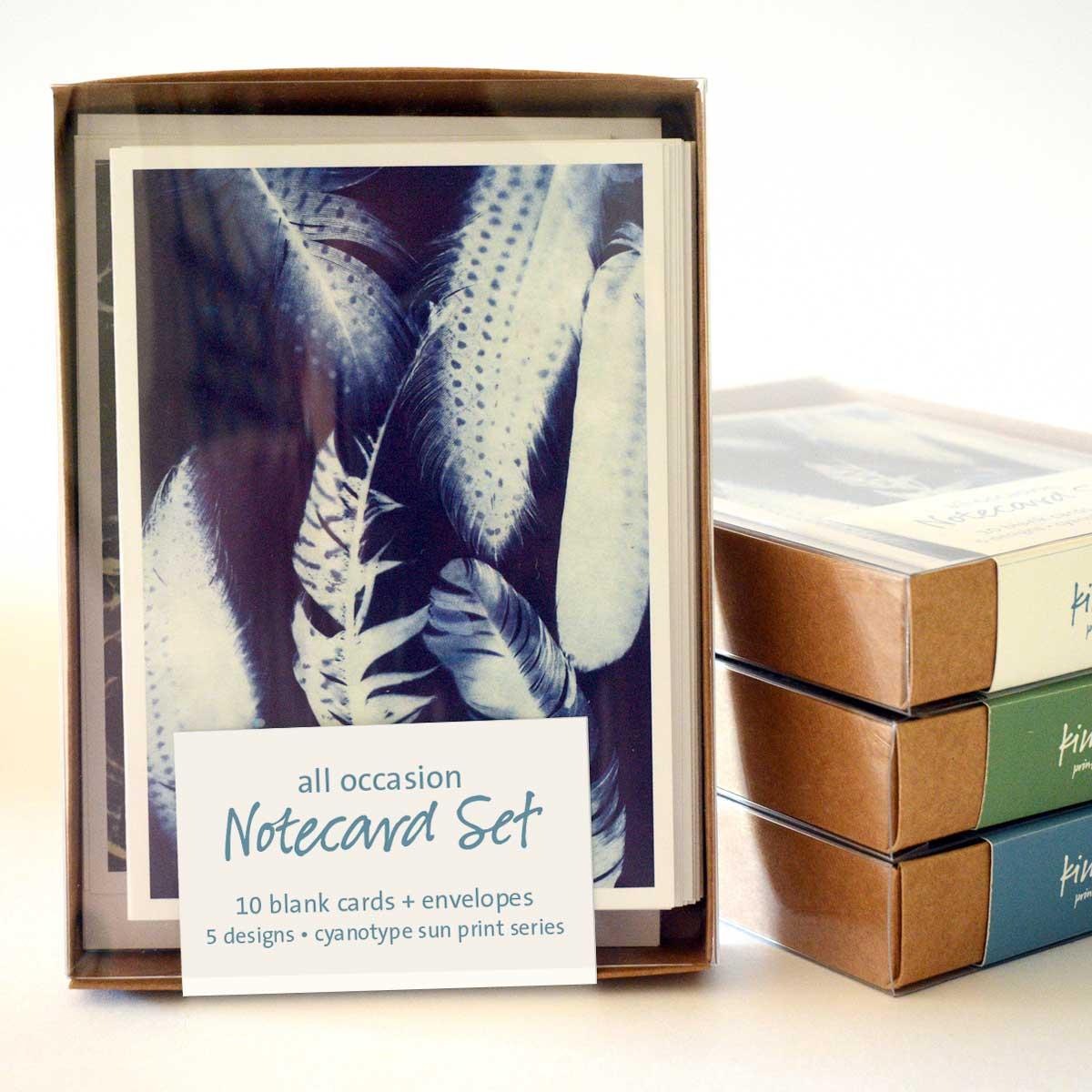 Cyanotype Notecard Set (10 cards)