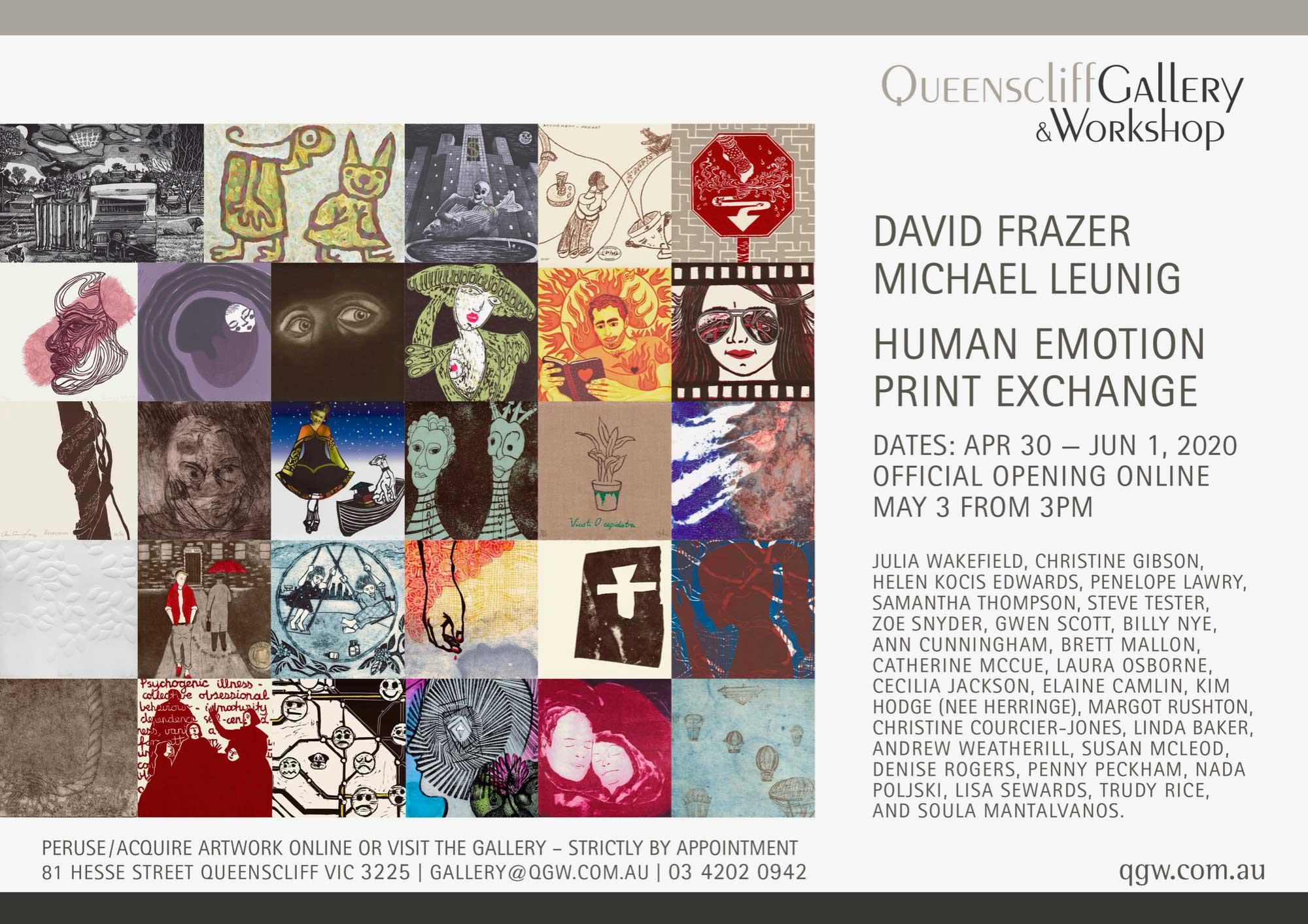 Queenscliff Print Exchange Invitation