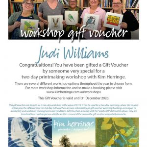 two day workshop gift voucher