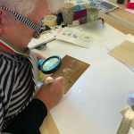 Metal Plate Etching workshop