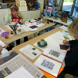 Metal Plate Etching workshop