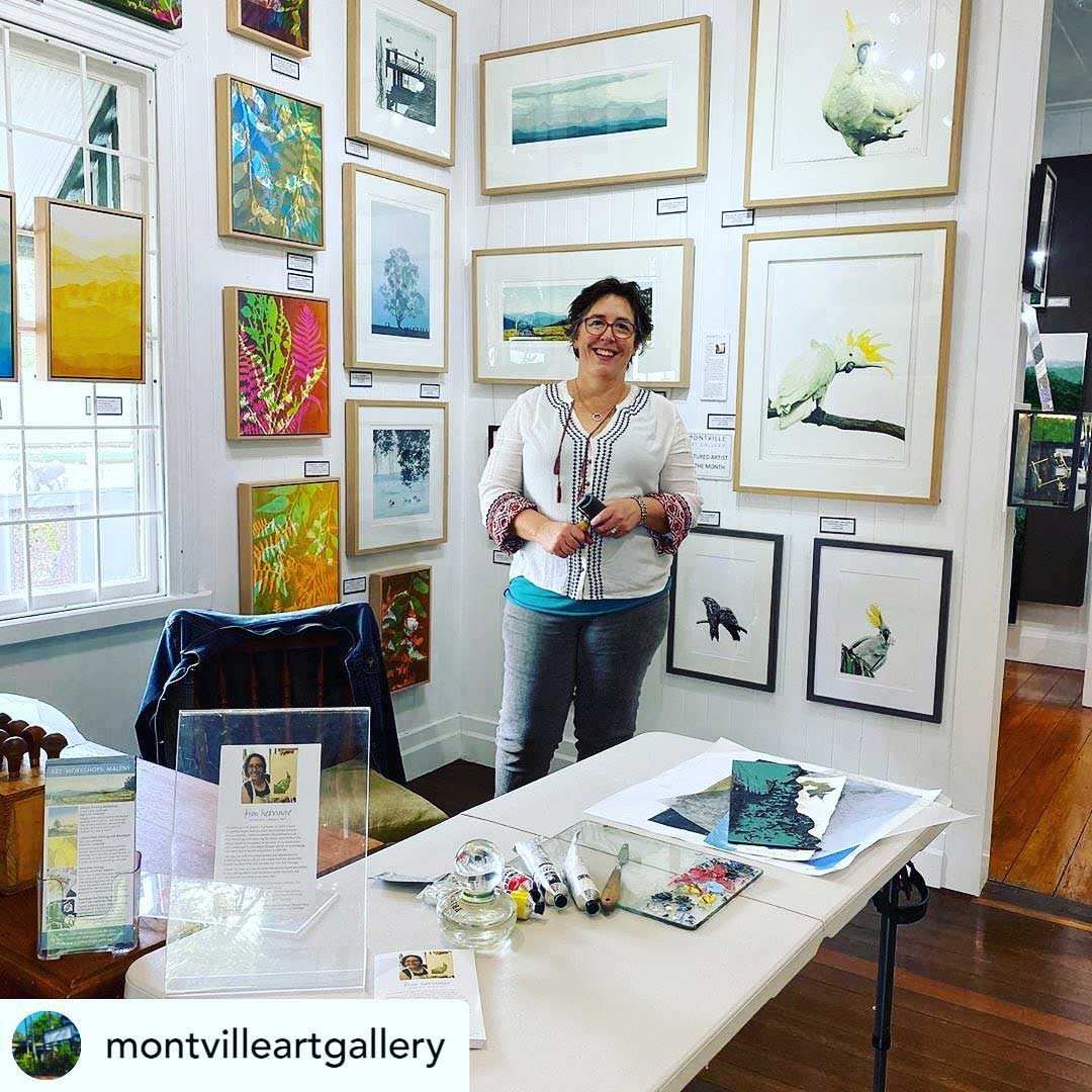 Montville Art Gallery, Featured Artist July 2020