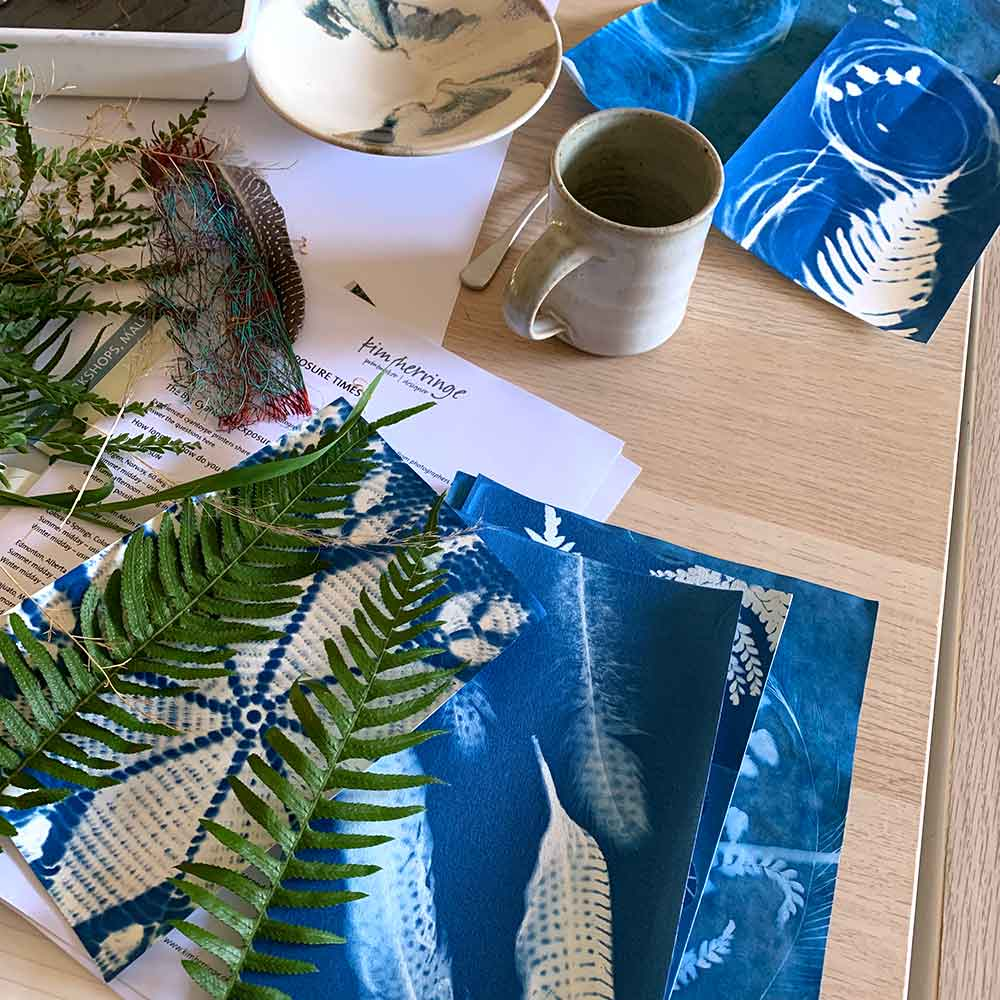 Cyanotype workshop August 2020