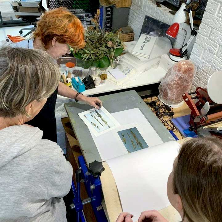 Metal Plate Etching workshop September 2020