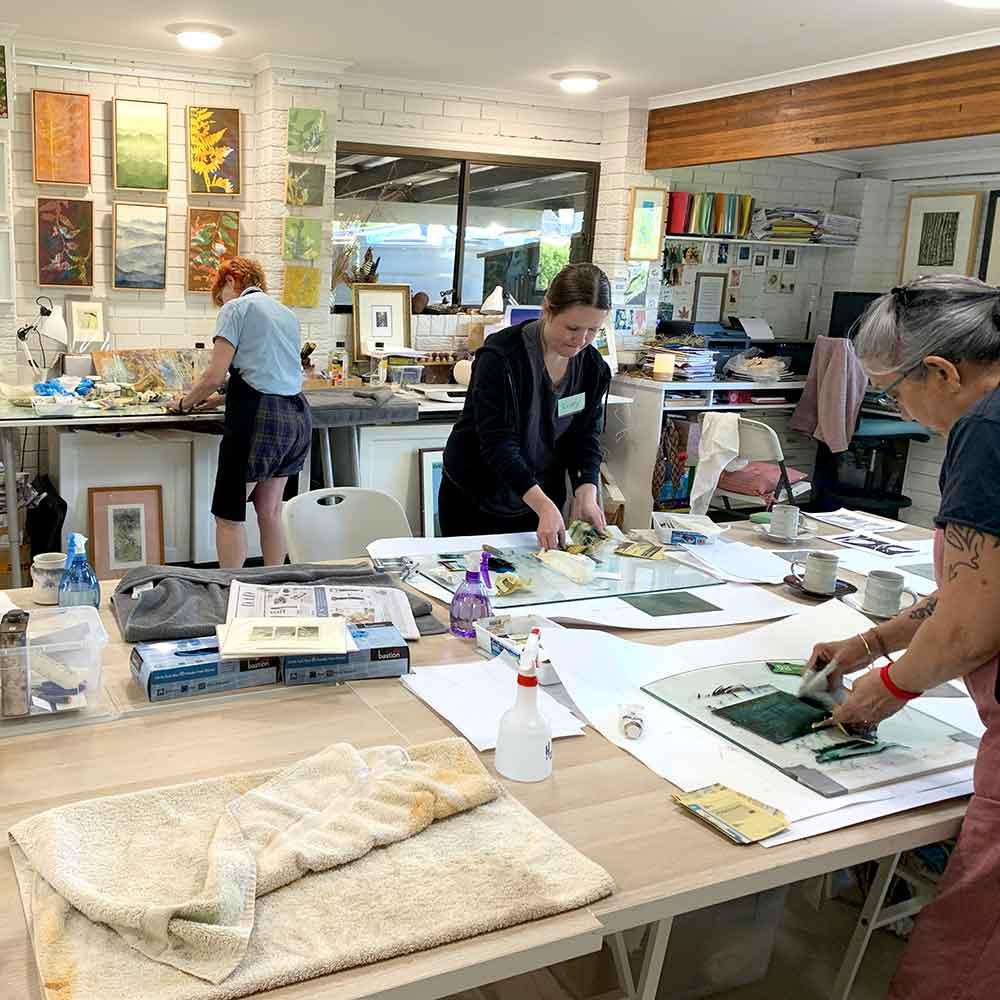 Metal Plate Etching workshop September 2020