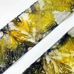 Eco-printing on silk - October 2020