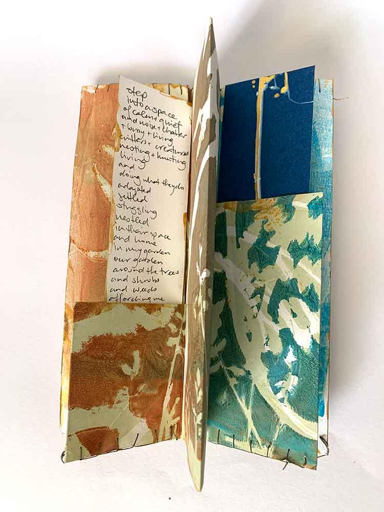 Love notes to my garden - artist book