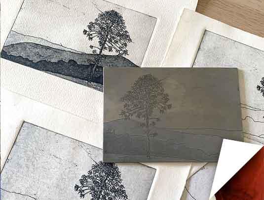 Metal Plate Etching