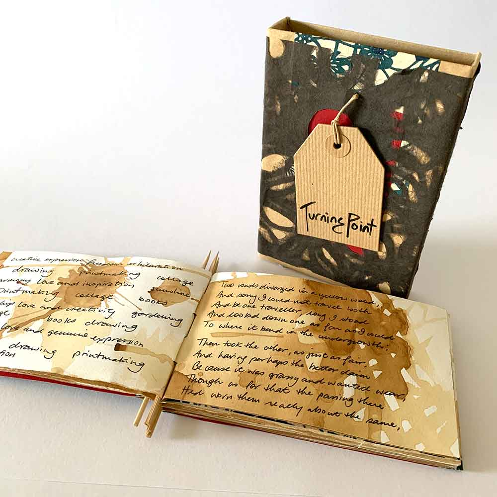 'Turning Point' artist book