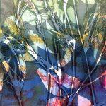 gel plate monoprint