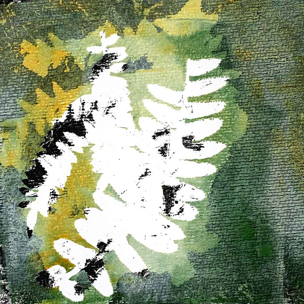 Gel Plate Monoprinting workshop - March 2021, Private Group
