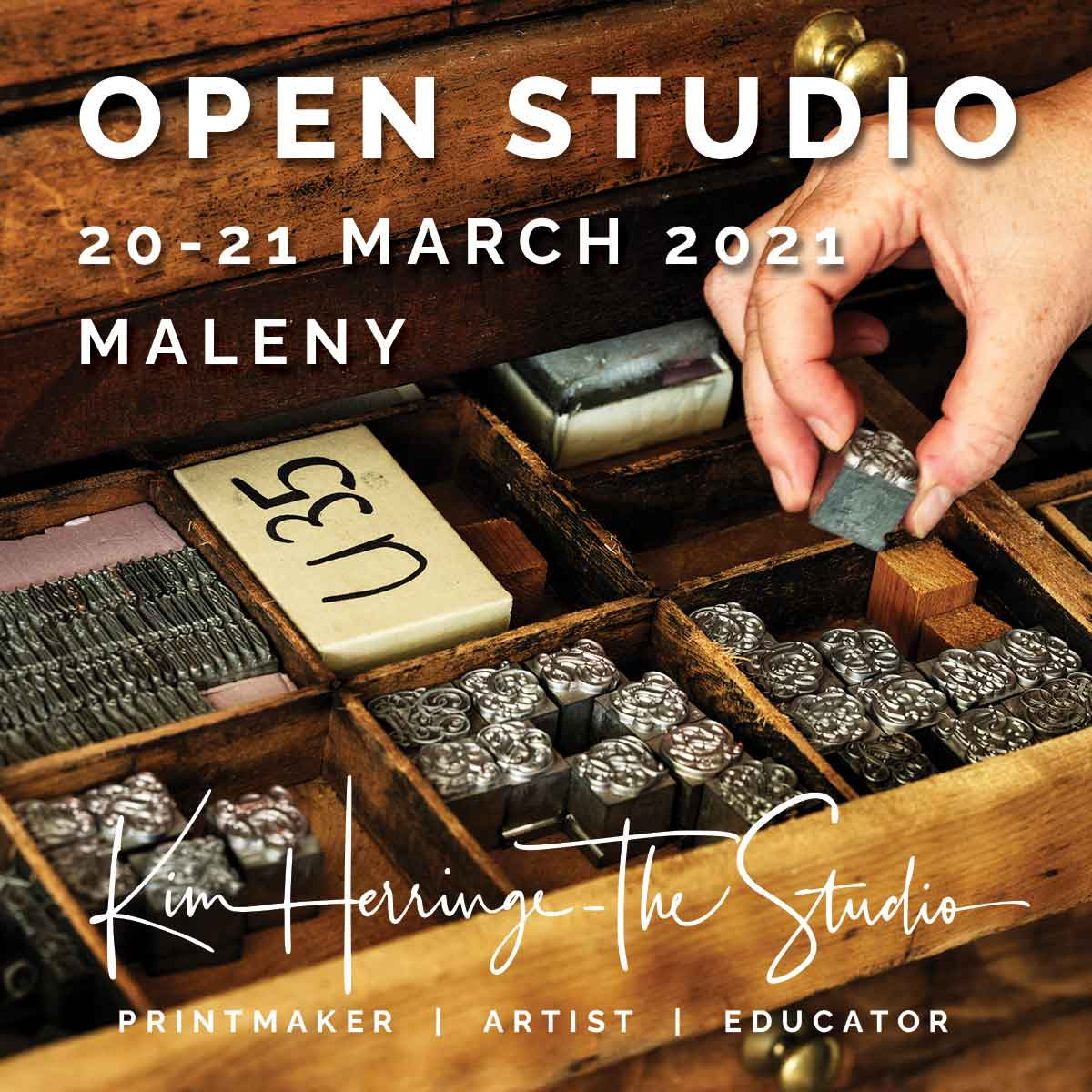 Open Studios Sunshine Coast 20-21 March - Kim Herringe, Maleny