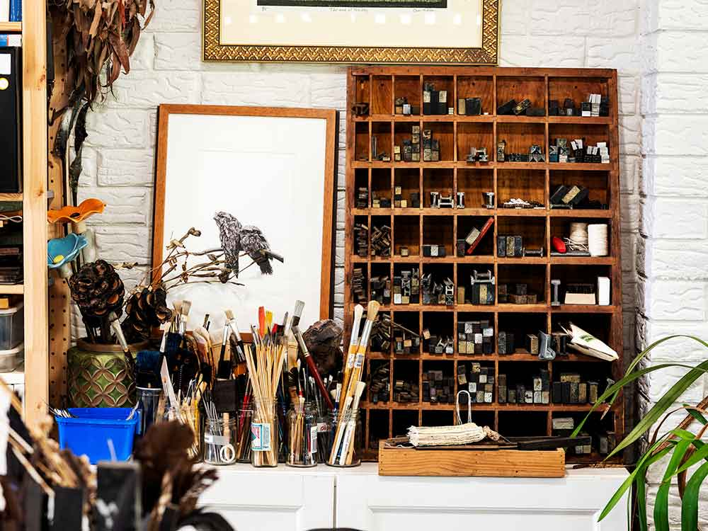 The Studio - Kim Herringe, Maleny