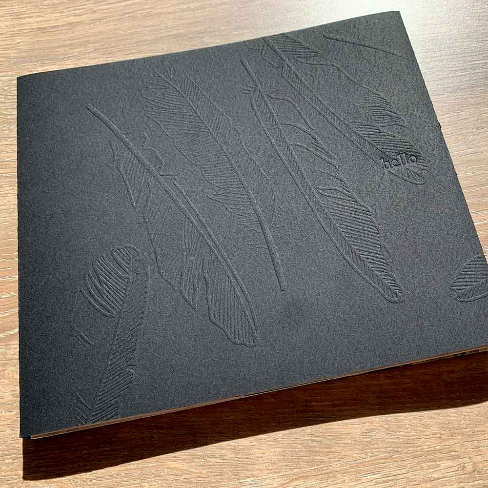 Magpie Stories - Hello - artist book