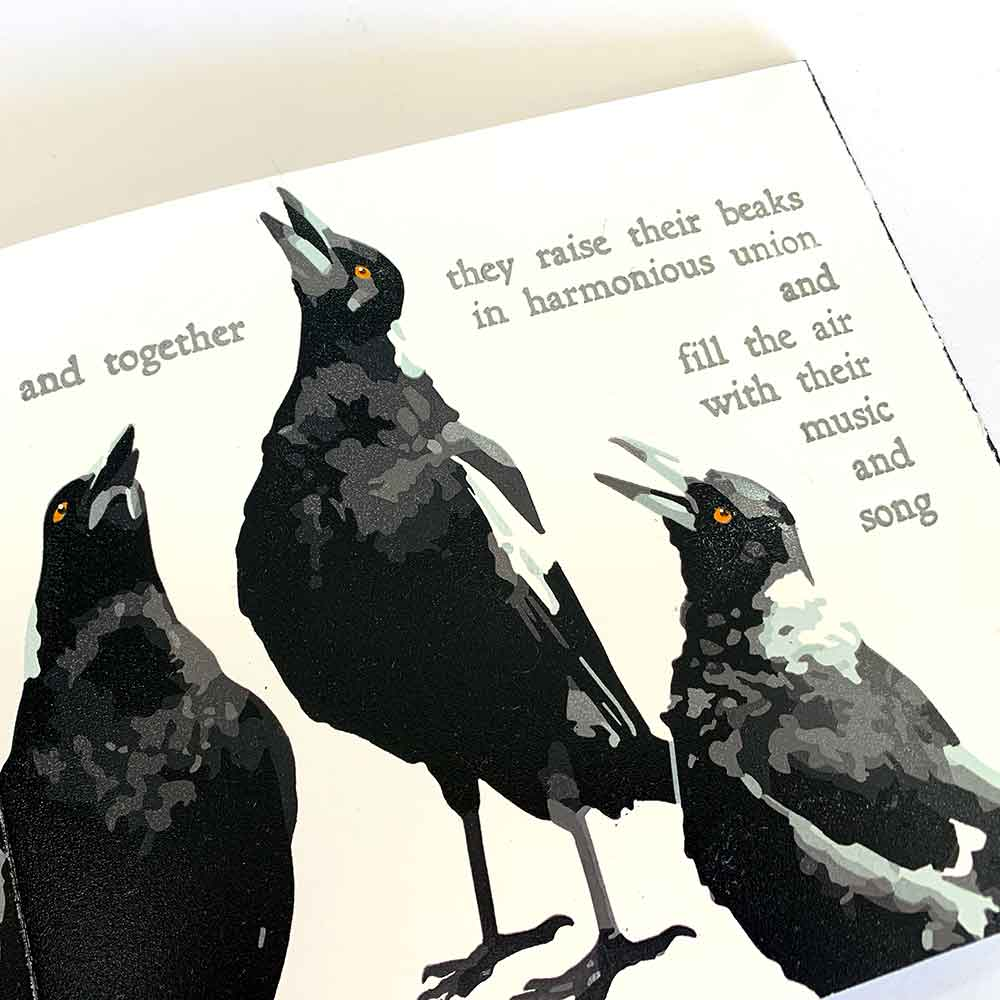 Magpie Stories - Family Choir - artist book