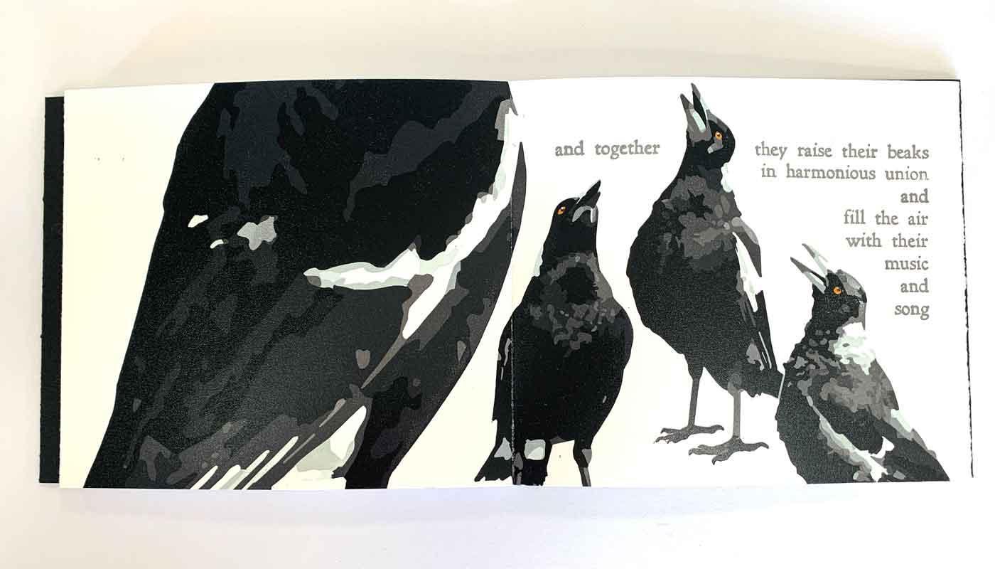 Magpie Stories artist books