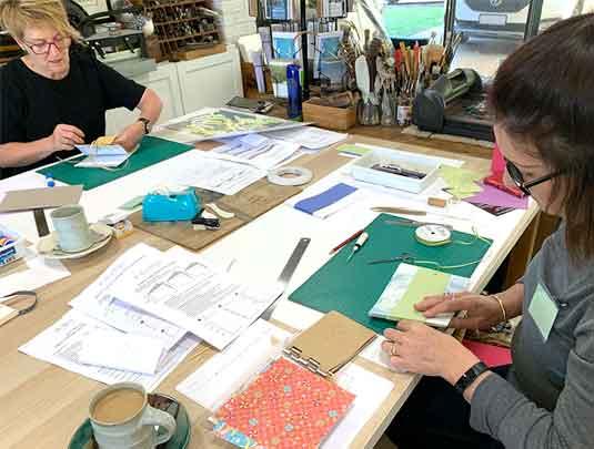 Simply Folded artist book workshop