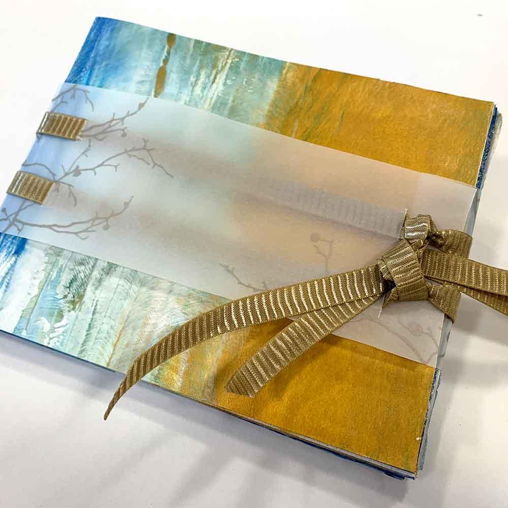 Simply Folded Artist Book Workshop April 2021