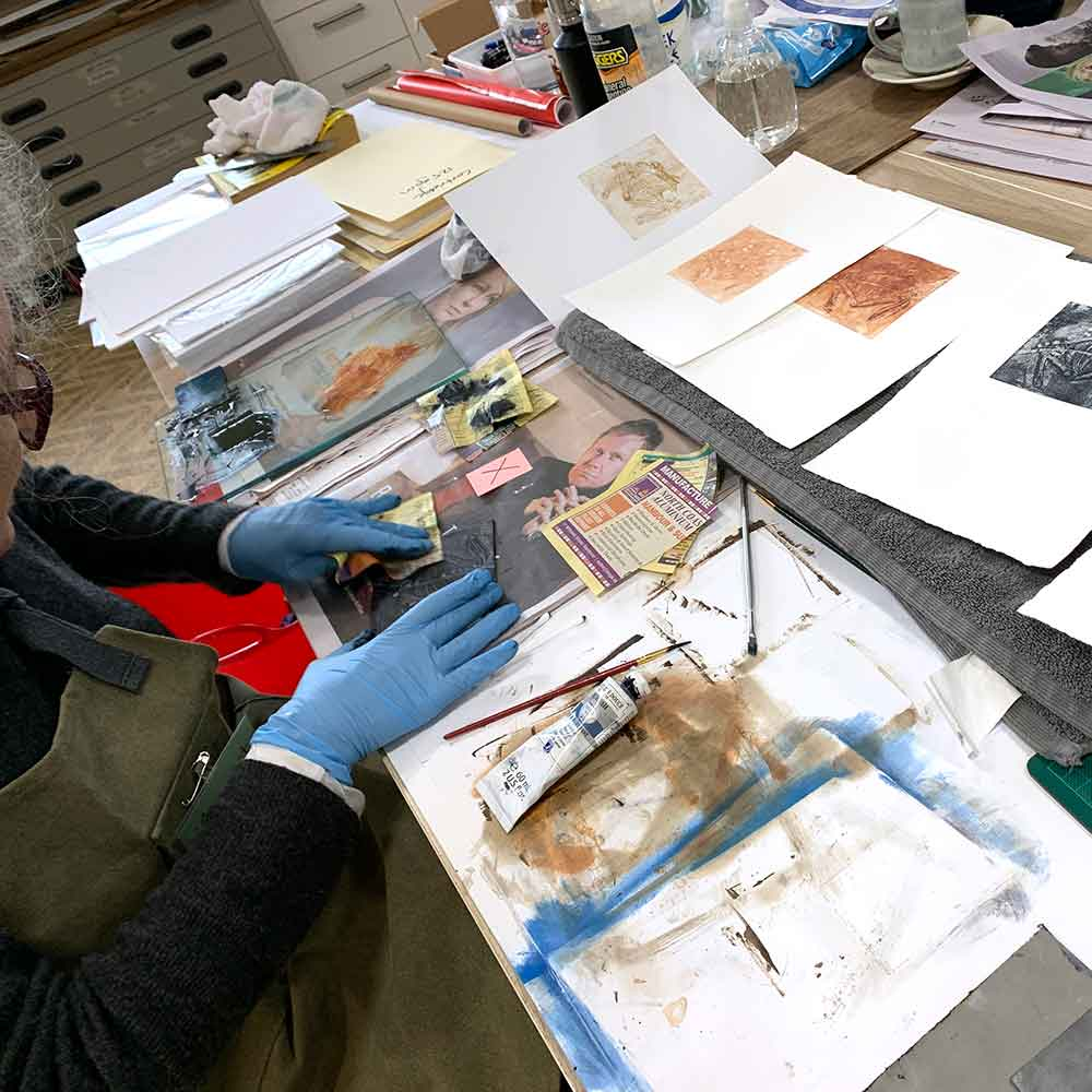 Metal Plate Etching workshop May 2021