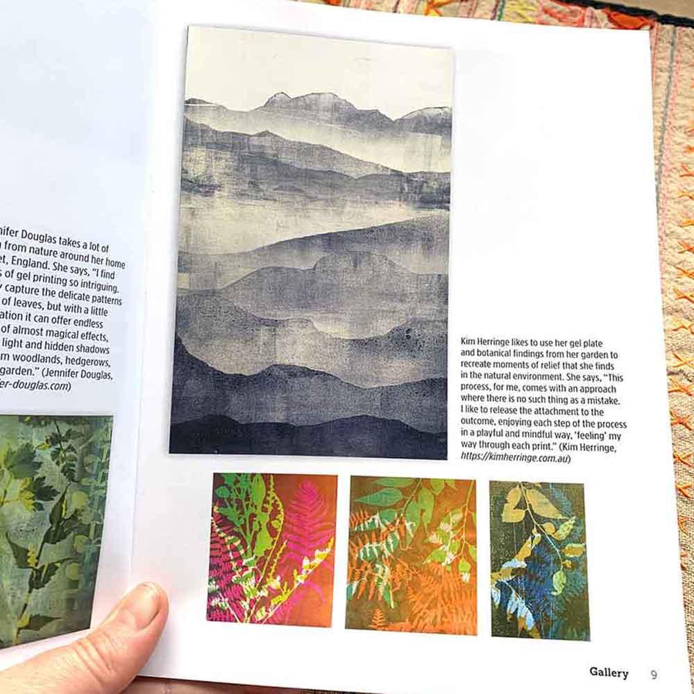 Gelli Arts Printing Guide - Kim Herringe
