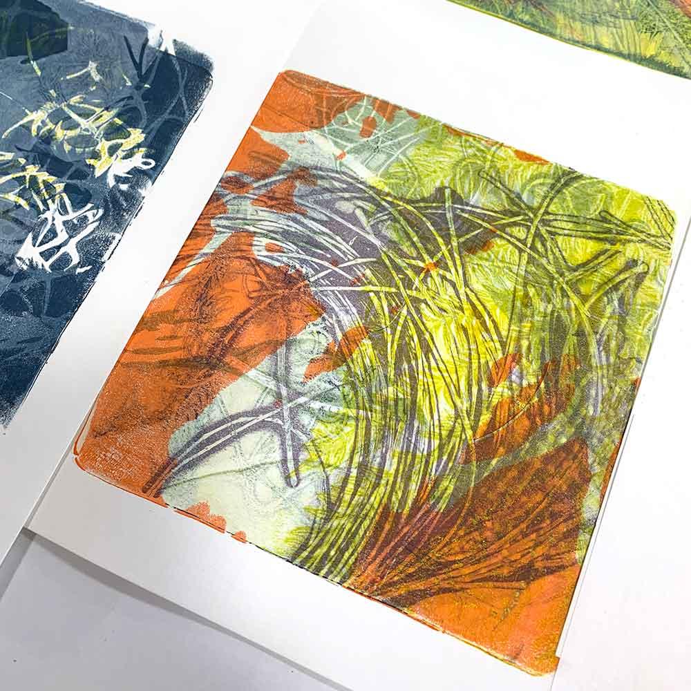 Gel Plate Monoprinting Beyond the Basics May 2021