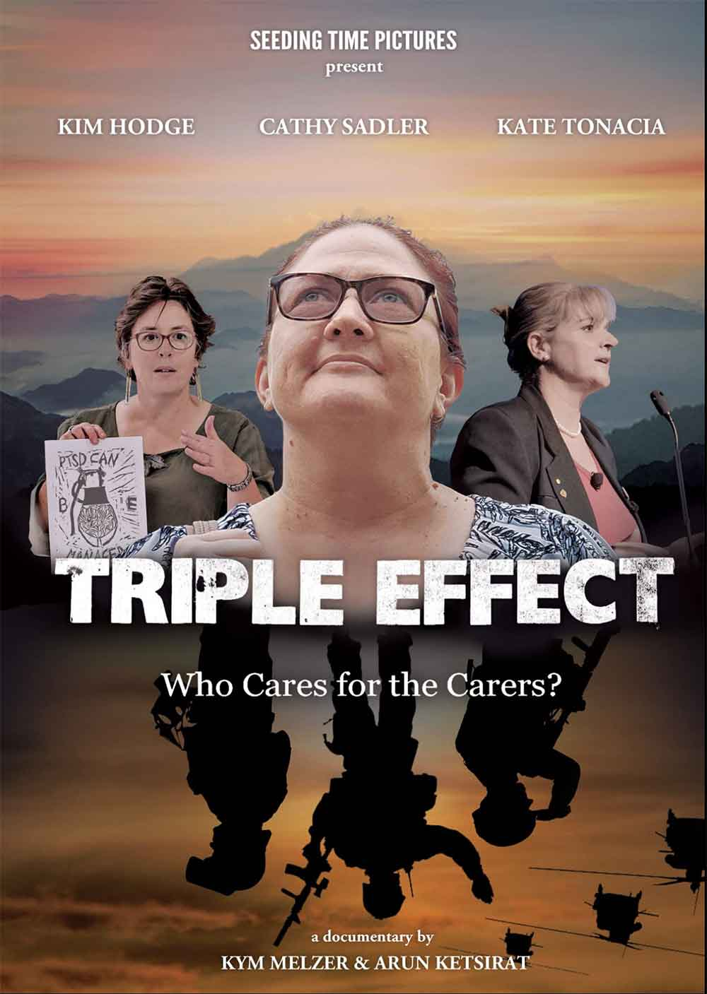 PTSD Love Stories ... Who Cares for the Carer - Triple Effect