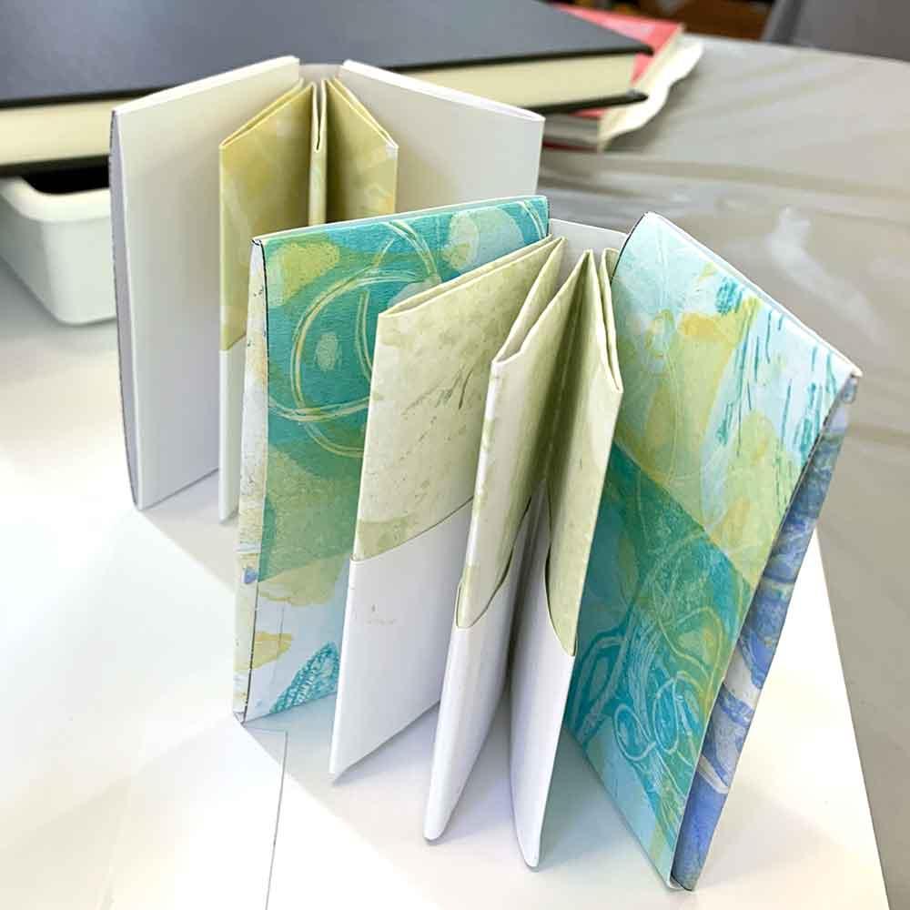 Buderim Craft Cottage Winter School 2021 - Simply folded