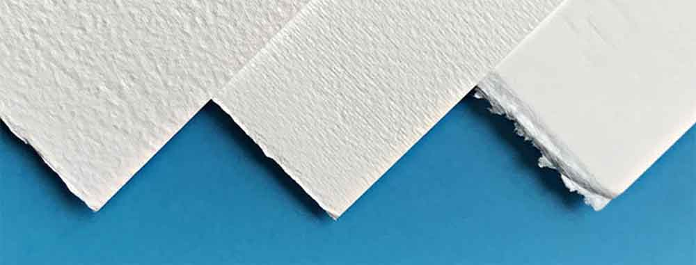 Hot Pressed and Cold pressed papers
