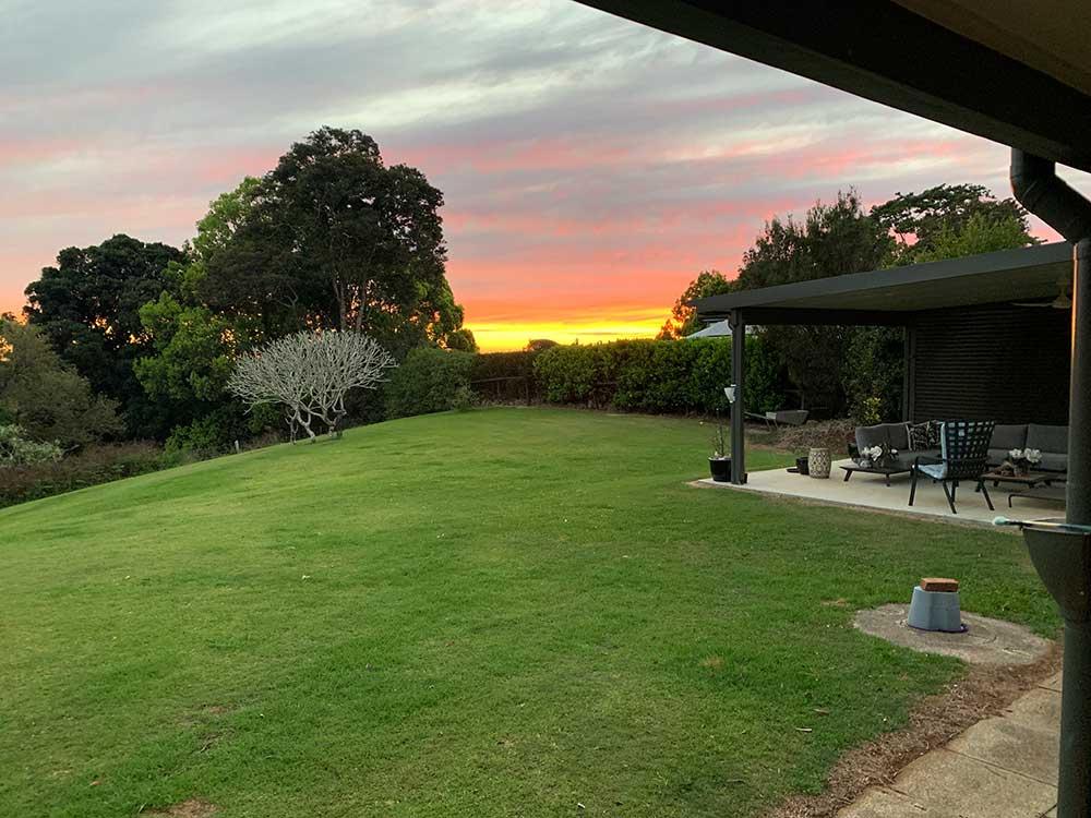 Maleny sunset set the sky on fire