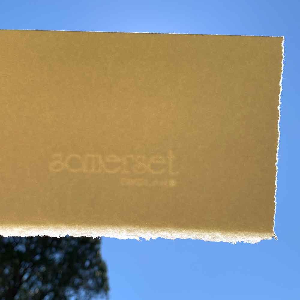 Somerset printmaking paper watermark